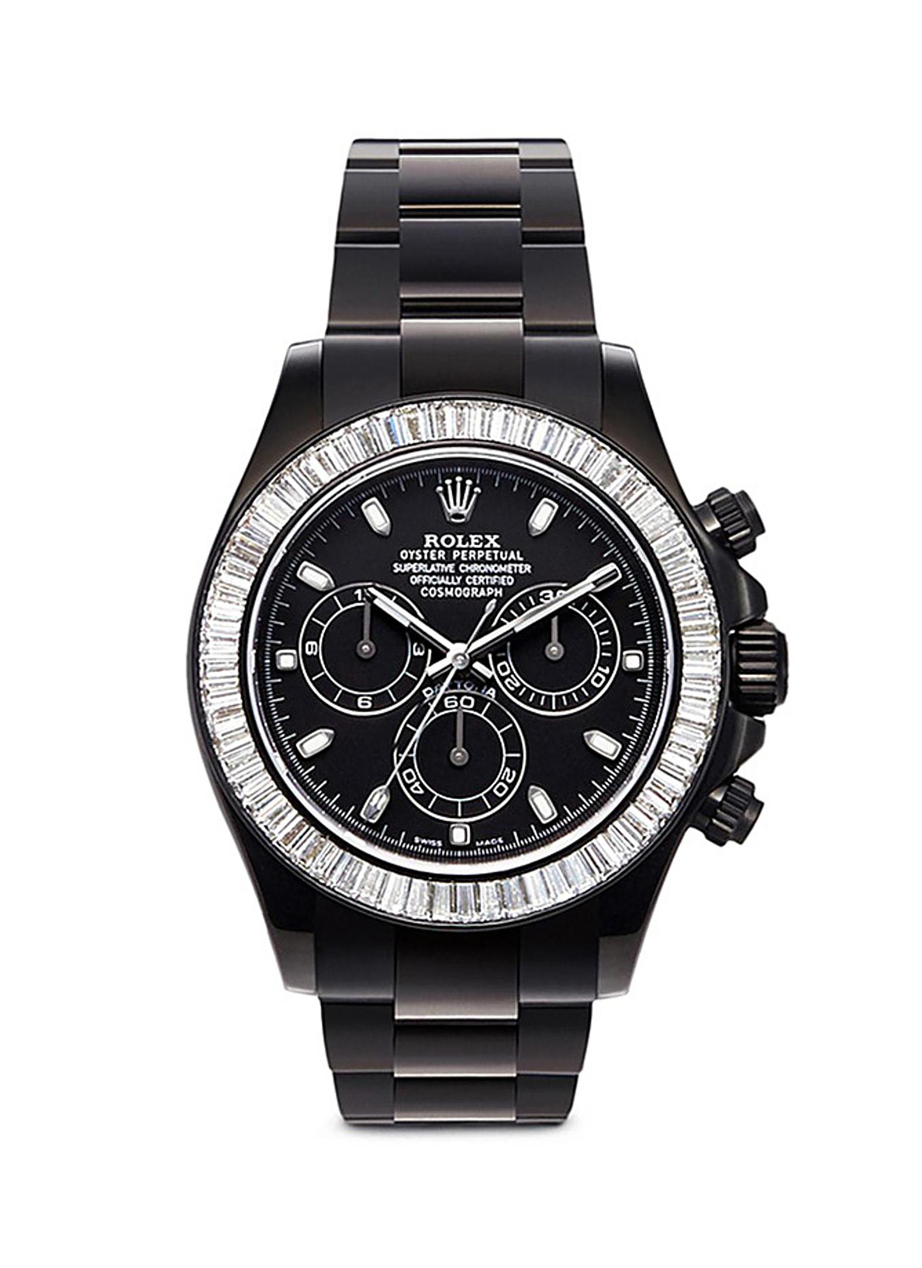 Rolex Cosmograph Daytona oyster perpetual diamond watch by Mad Collections