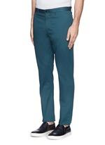 'Zaine' cotton blend twill pants