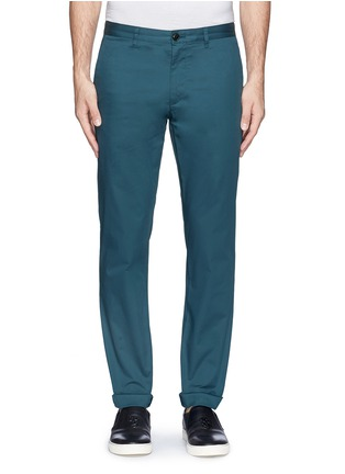 Main View - Click To Enlarge - Theory - 'Zaine' cotton blend twill pants