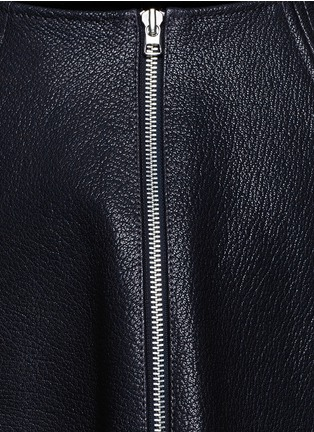 Detail View - Click To Enlarge - Opening Ceremony - 'Dakota' leather flare skirt