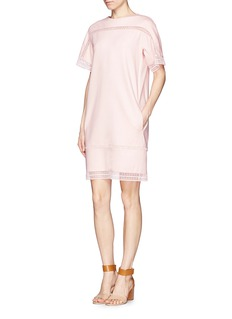 CHLOÉ Embroidered trim shift dress