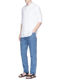 EidosCotton chambray pants