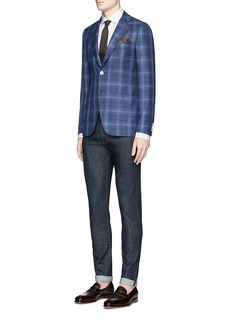 ISAIA Slim fit raw jeans