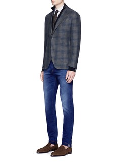 ISAIA Slim fit selvedge jeans