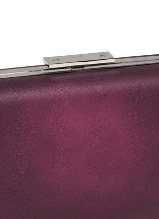 Detail View - Click To Enlarge - Alexander Wang  - 'Chastity' heat sensitive leather clutch