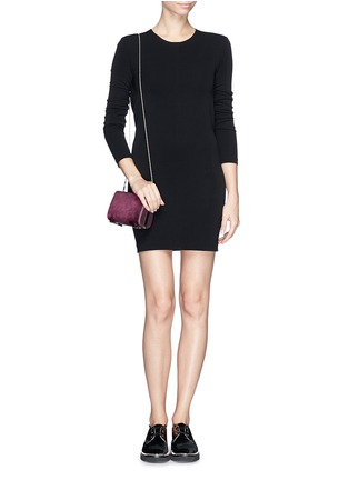 Figure View - Click To Enlarge - Alexander Wang  - 'Chastity' heat sensitive leather clutch