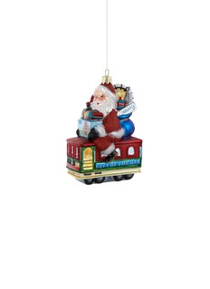 Kurt S Adler San Francisco trolley Santa Christmas ornament