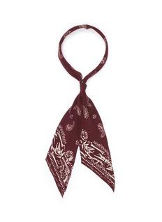 Rockins'Guns 'n' Rockins' super skinny silk scarf
