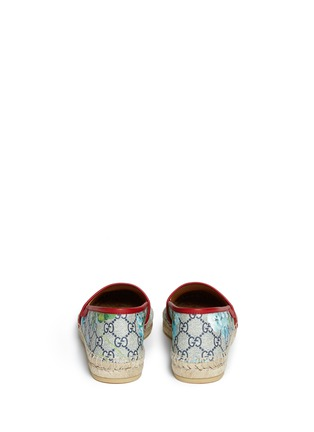 Back View - Click To Enlarge - Gucci - 'GG Blooms' floral print espadrilles