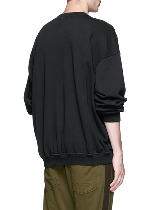 Back View - Click To Enlarge - Haider Ackermann - 'Perth' oversized sweatshirt