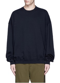 Haider Ackermann 'Perth' oversized sweatshirt