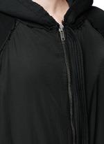 'Perth' oversized zip hoodie
