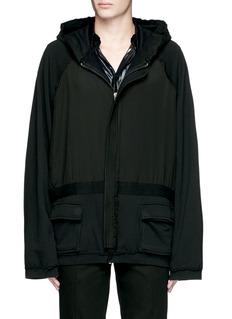 Haider Ackermann'Perth' oversized zip hoodie