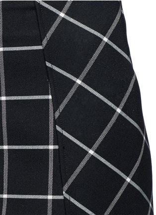 Detail View - Click To Enlarge - rag & bone - 'Sabina' windowpane check midi pencil skirt