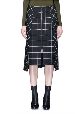 Main View - Click To Enlarge - rag & bone - 'Sabina' windowpane check midi pencil skirt