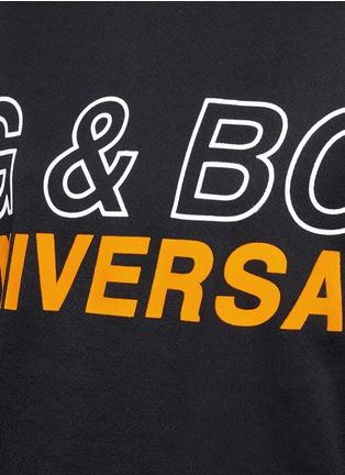 Detail View - Click To Enlarge - rag & bone - 'Moto' oversized logo graphic print sweatshirt