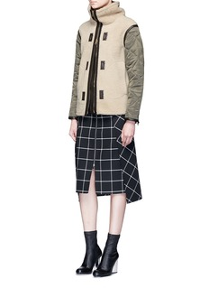 rag & bone'Elson' reversible lambskin shearling liner jacket