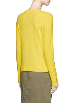 Back View - Click To Enlarge - rag & bone - 'Valentina' cashmere cropped sweater