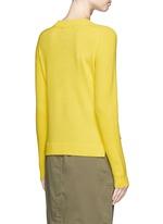 'Valentina' cashmere cropped sweater
