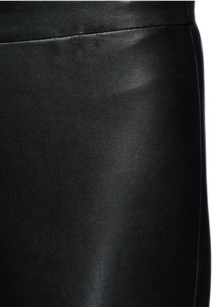 Detail View - Click To Enlarge - J Brand - 'Edita' lambskin leather leggings