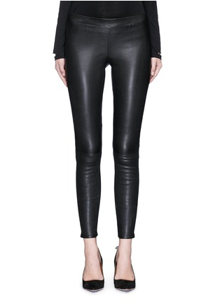 Main View - Click To Enlarge - J Brand - 'Edita' lambskin leather leggings