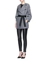 'Edita' lambskin leather leggings