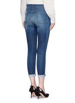 'Alana' cropped denim pants