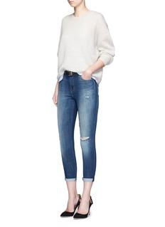J Brand'Alana' cropped denim pants