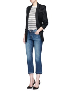 J Brand 'Selena' cropped boot cut jeans