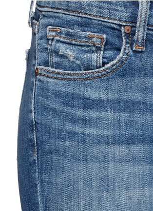 Detail View - Click To Enlarge - J Brand - Distressed cropped skinny jeans