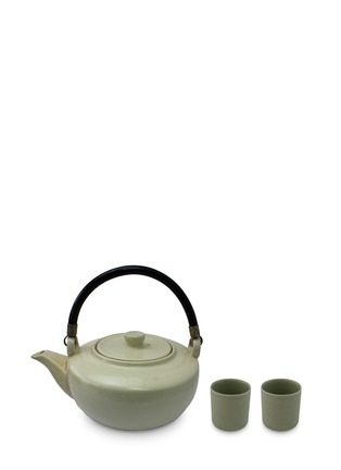 Main View - Click To Enlarge - SV Casa - Porcelain teapot and tumbler gift set