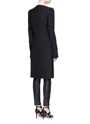 Haider Ackermann - Satin lapel virgin wool coat