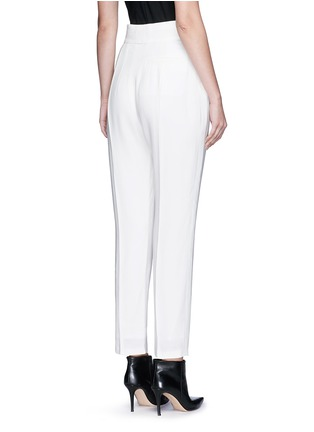 Back View - Click To Enlarge - Haider Ackermann - 'Phaseolus' pleat front crepe pants
