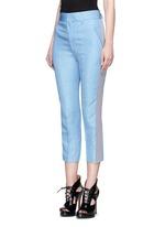 'Ekumuru' side stripe linen-silk pants