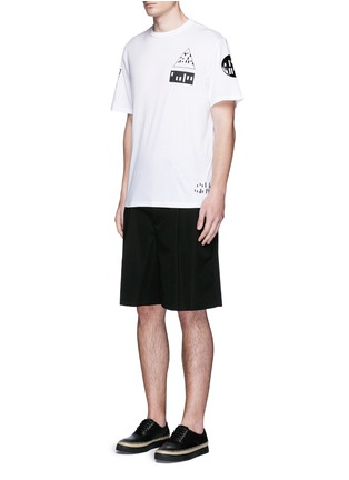 Figure View - Click To Enlarge - Alexander Wang  - Multi media print T-shirt
