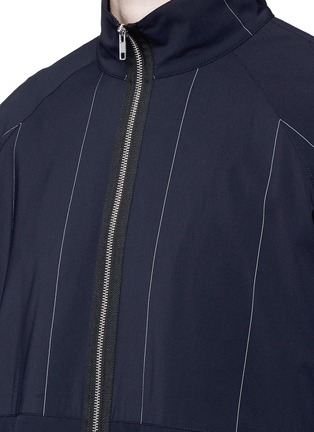 Detail View - Click To Enlarge - Alexander Wang  - Contrast stripe track jacket