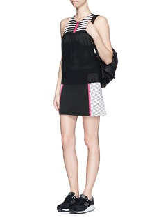 MONREAL LONDON'Performance' perforated camisole