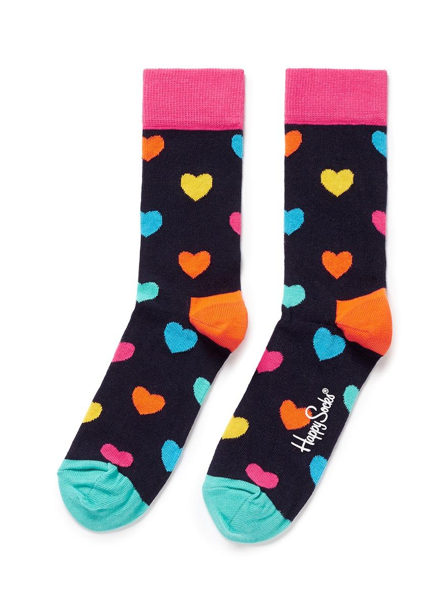 Heart socks by Happy Socks