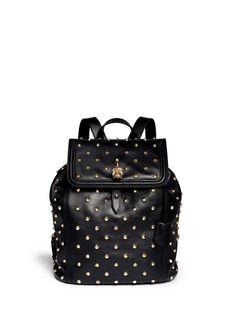 ALEXANDER MCQUEEN 'Padlock' stud leather backpack