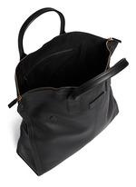 Leather manta bag