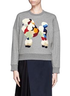 3.1 PHILLIP LIMPoodle crop sweatshirt