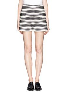 WHISTLES'Audrey' stripe shorts