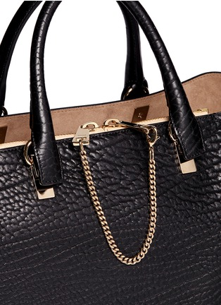 Detail View - Click To Enlarge - Chloé - 'Baylee' medium leather tote
