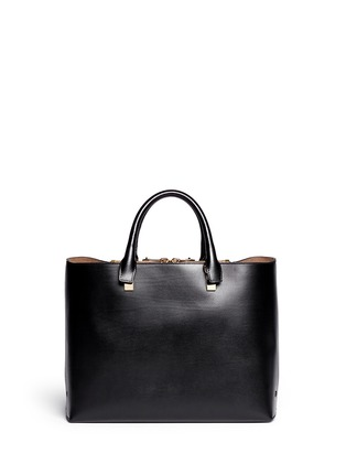 Back View - Click To Enlarge - Chloé - 'Baylee' medium leather tote