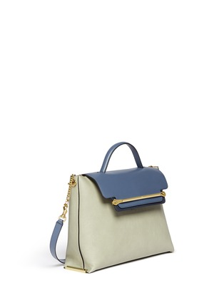 Figure View - Click To Enlarge - Chloé - 'Clare' large leather shoulder bag