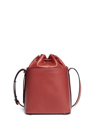 Detail View - Click To Enlarge - 3.1 Phillip Lim - 'Hana' drawstring leather bucket bag
