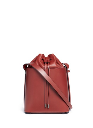 Main View - Click To Enlarge - 3.1 Phillip Lim - 'Hana' drawstring leather bucket bag
