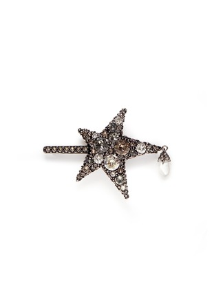 Main View - Click To Enlarge - Alexander McQueen - 'Surreal Obsession' Swarovski crystal star hair clip