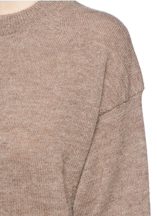Detail View - Click To Enlarge - Acne Studios - 'Jhira' alpaca-wool sweater