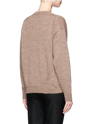 Back View - Click To Enlarge - Acne Studios - 'Jhira' alpaca-wool sweater